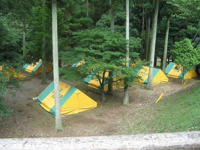 法華嶽公園キャンプ場
